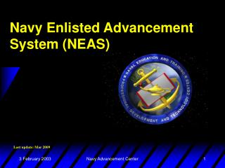 Naval force Enlisted Advancement System NEAS