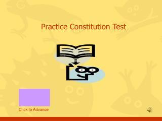 Hone Constitution Test