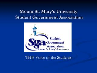 Mount St. Mary s University Student Government Association