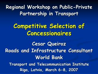 Aggressive Selection of Concessionaires