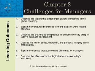 Section 2 Challenges for Managers