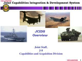 JCIDS Overview