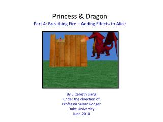Princess Dragon Part 4: Breathing Fire Adding Effects to Alice