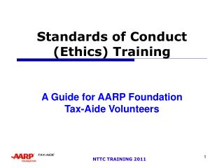 Norms of Conduct Ethics Training