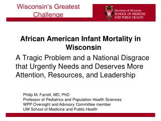 Wisconsin s Greatest Challenge