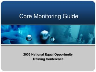 Center Monitoring Guide