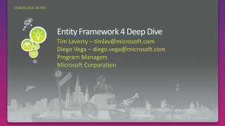 Element Framework 4 Deep Dive