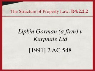 Lipkin Gorman a firm v Karpnale Ltd [1991] 2 AC 548