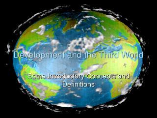 Improvement and the Third World