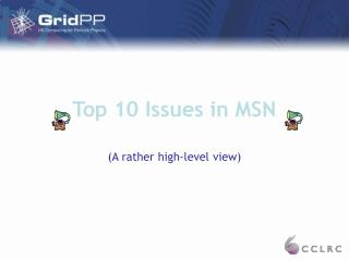 Main 10 Issues in MSN