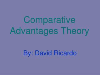 Near Advantages Theory