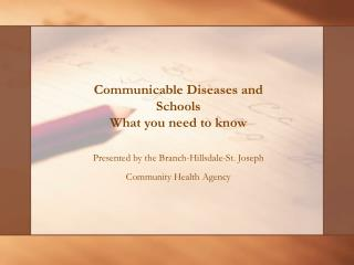 Transferable Diseases and Schools What you have to know