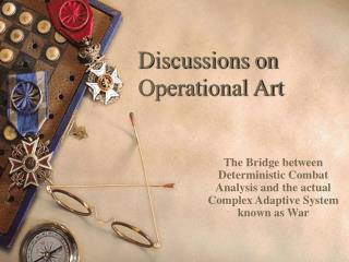 Talks on Operational Art