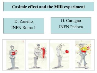 Casimir impact and the MIR test