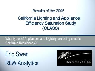 What sorts of Appliances and Lighting are being utilized as a part of California Residences