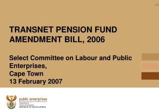 Source: Transnet, 2006