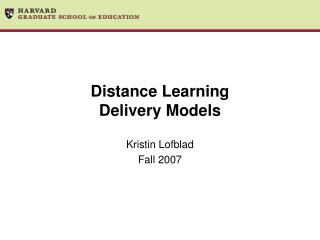 Separation Learning Delivery Models