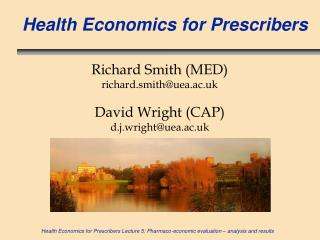 Wellbeing Economics for Prescribers