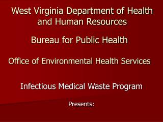 West Virginia Department of Health and Human Resources