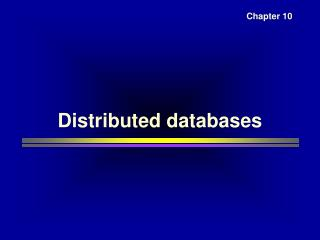 Circulated databases