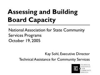 Surveying and Building Board Capacity
