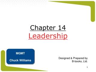 Part 14 Leadership