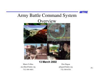 Armed force Battle Command System Overview