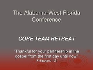 The Alabama-West Florida Conference