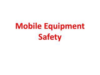 Versatile Equipment Safety