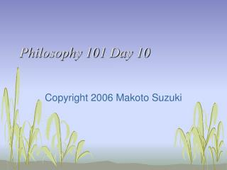 Reasoning 101 Day 10