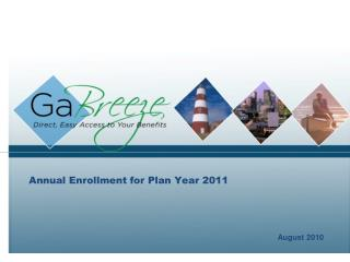 Yearly Enrollment for Plan Year 2011