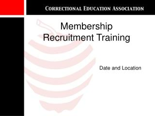 Enrollment Recruitment Training