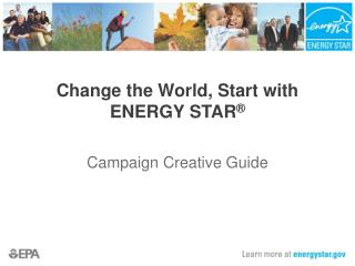 Change the World, Start with ENERGY STAR