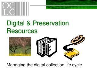 Computerized Preservation Resources