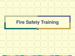 Fire Safety Training