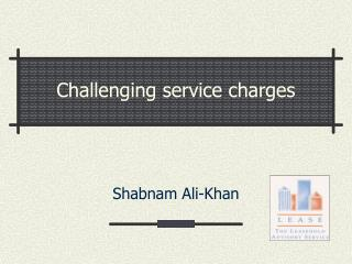 Testing administration charges