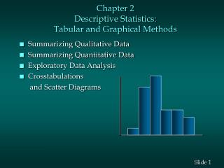 Part 2 Descriptive Statistics: Tabular and Graphical Methods