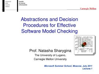 Reflections and Decision Procedures for Effective Software Model Checking