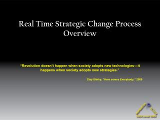 Ongoing Strategic Change Process Overview