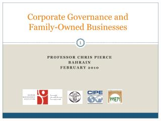 Corporate Governance and Family-Owned Businesses