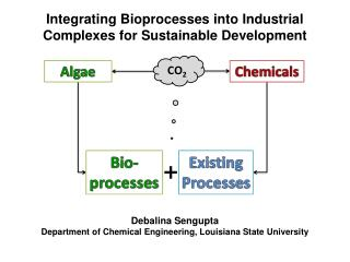 Incorporating Bioprocesses into Industrial Complexes for Sustainable Development