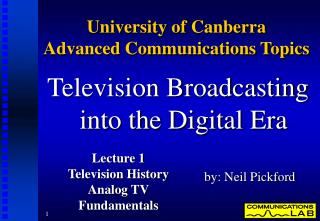College of Canberra Advanced Communications Topics
