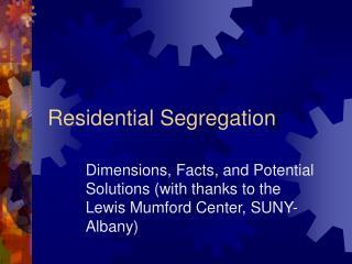 Private Segregation