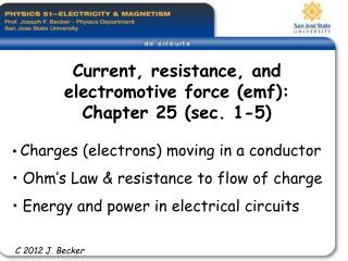 Charges electrons moving in a channel Ohm s Law imperviousness to stream of charge Energy and force in electrical circu