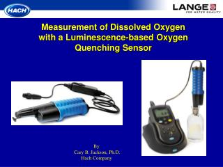 Estimation of Dissolved Oxygen with a Luminescence-based Oxygen Quenching Sensor