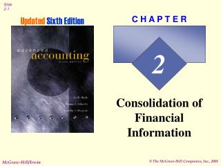 Solidification of Financial Information