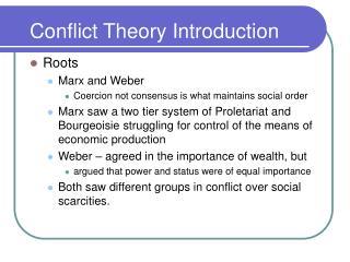 Struggle Theory Introduction