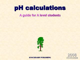 PH estimations An aide for A level understudies