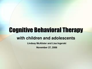 Intellectual Behavioral Therapy