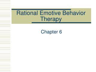 Discerning Emotive Behavior Therapy
